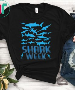 Have a Good WEEK with this SHARK t-shirt