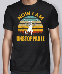 Vintage I Am Unstoppable T Rex Shirt
