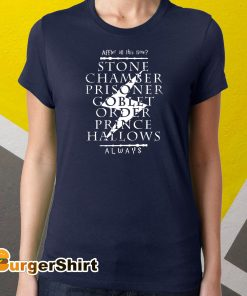 After all this time stone chamber prince halloween always harry potter gift shirt