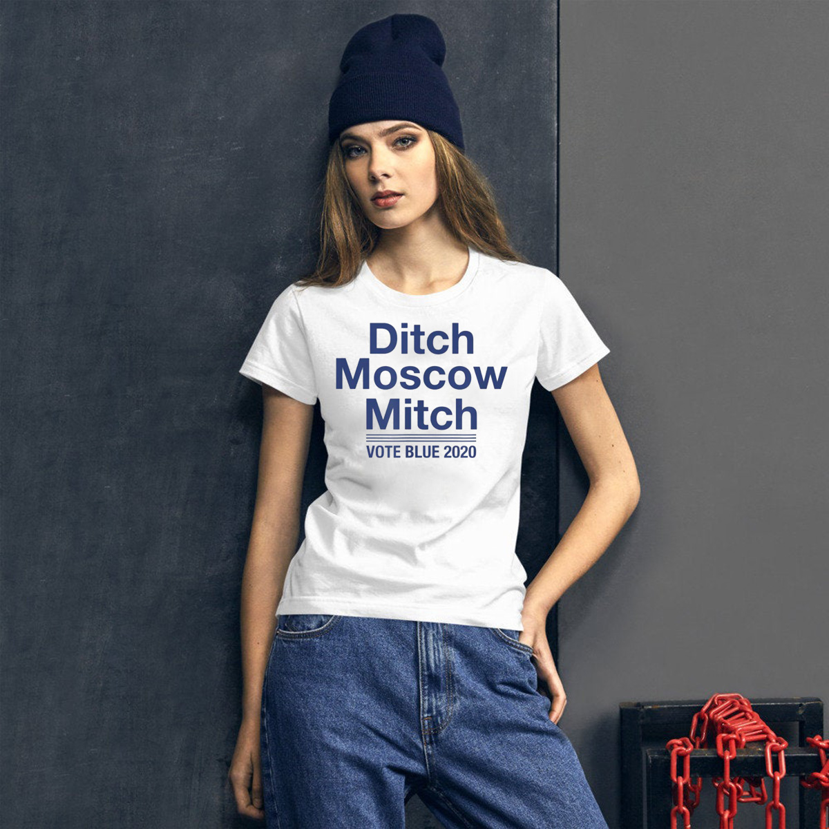 'Ditch Moscow Mitch', Resistance T-Shirt
