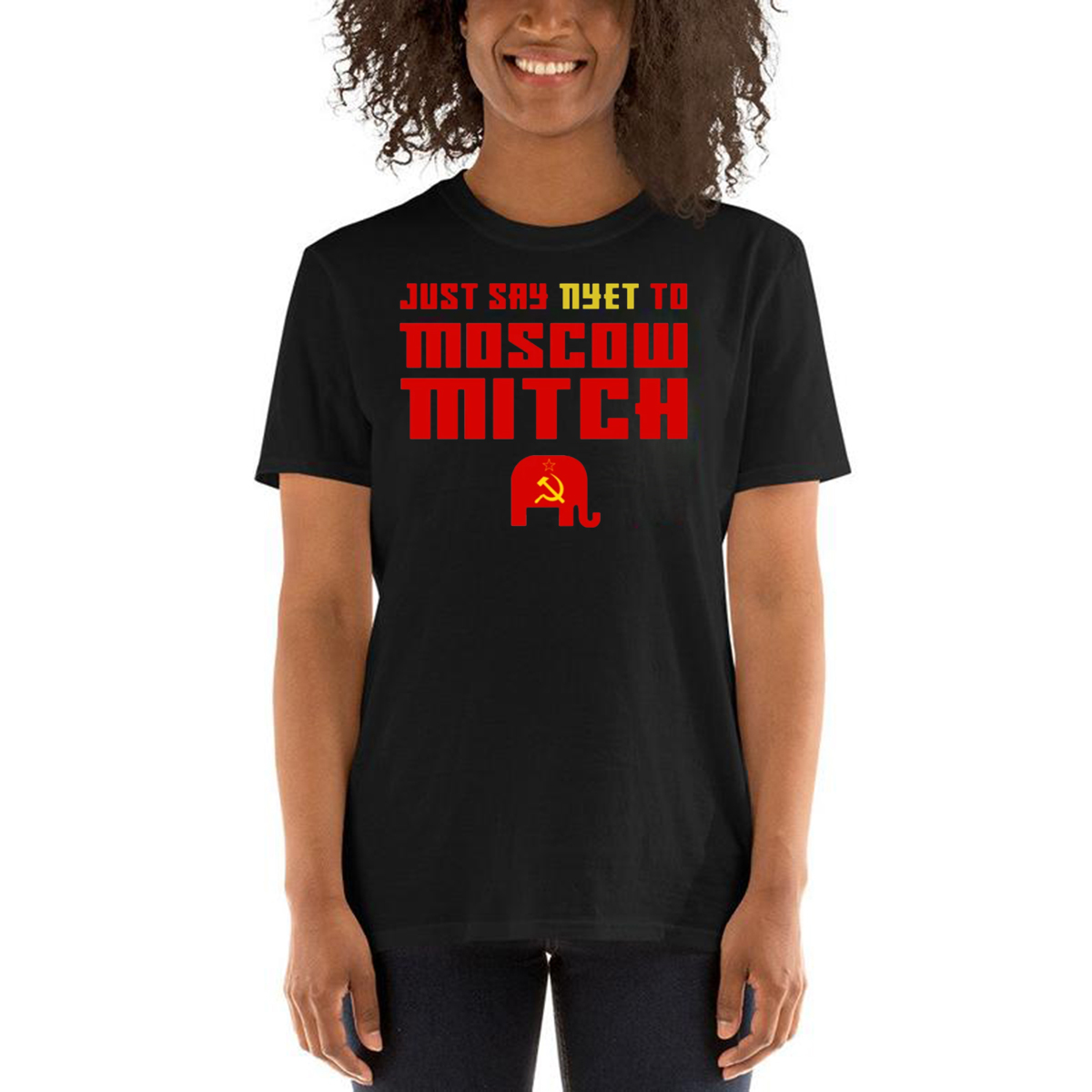 #MoscowMitch T Shirt , Just Say Nyet To Moscow Mitch Shirt – Moscow Mitch T-Shirt