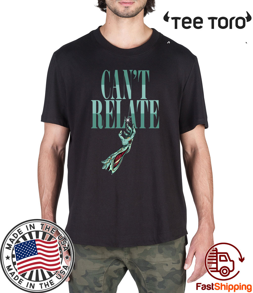 Zombie Can't Relate Halloween Shirt