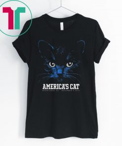 America's Cat Dallas Football Black Cat T-Shirt