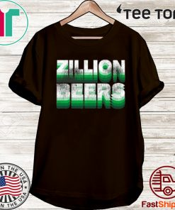 Zillion Beers St. Paddy's Pocket Tee Shirt