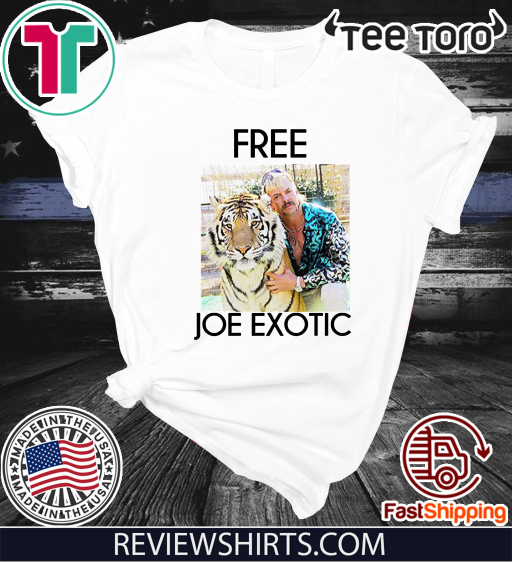 Free Joe Exotic Tee Shirt Tiger King