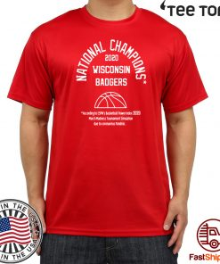 WISCONSIN BADGERS - 2020 NATIONAL CHAMPIONS T-SHIRT