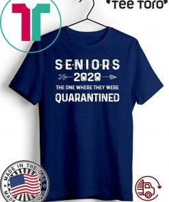 #Seniors2020 The One Where They Were Quarantined Shirts
