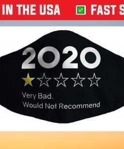 2020 One Star Very Bad Would Not Recommend Us 2021 Face Mask