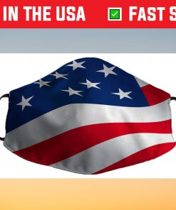 AMERICAN US FLAG Cloth Face Mask