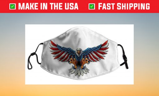 American Flag Eagle Us 2021 Face Mask