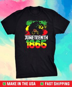 Juneteenth Is My Independence Day Black Pride Us 2021 T-Shirt